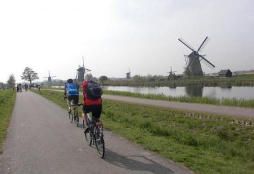 De Rotterdam à Kinderdijk