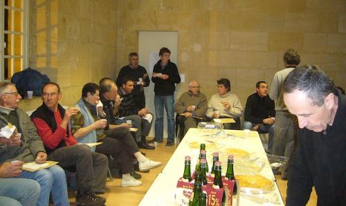 Galette des rois 2011.