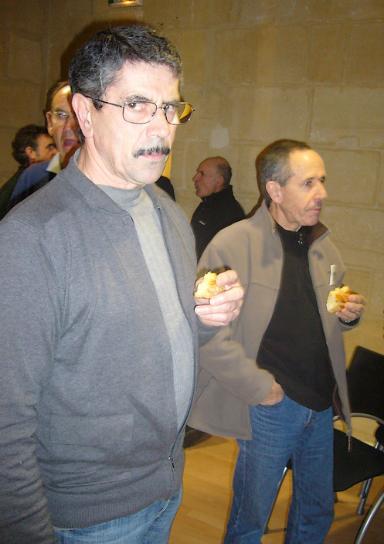 Galette des rois 2012.