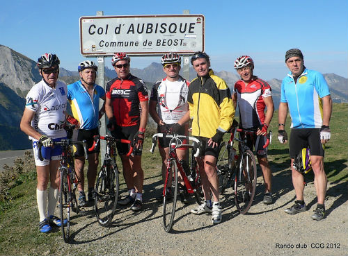 Sortie de la rando club à Laruns(64).